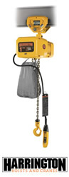 Harrington Electric Chain Hoist