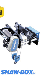 Shaw-box Wire Rope Hoist