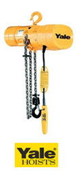 yale electric chain hoist manual